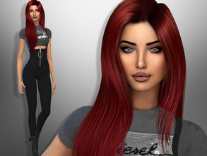 Sims 4 — Melody Floyd by divaka45 — Look at the creator`s notes for the custom content which I have used. DOWNLOAD