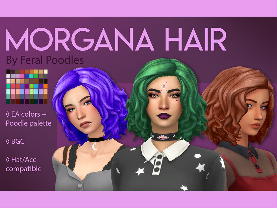 Feralpoodles Morgana Hair