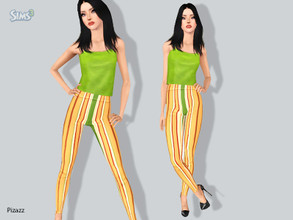 Sims 3 — Leggings v-003 by pizazz — Great legging for all your needs Please do not use my meshes please do not use my
