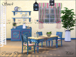 Sims 4 — Cerezo by Pilar — country style for dream cabins