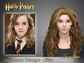 Sims 4 — Hermione Granger from Harry Potter by chiringo-chan — Because of the new expansion that Isn't-Hoqwards-expansion
