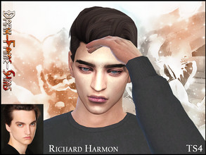 Sims 4 — Richard Harmon  by Dark-Fame-Sims — Here a Sim of a well known actor called Richard Harmon. He is most well