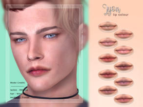 Sims 4 — [ Lyon ] - Lip Colour by Screaming_Mustard — A simple, detailed lip colour. For females/females, teen +. With