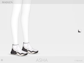 Sims 4 — Madlen Asha Shoes by MJ95 — Mesh modifying: Not allowed. Recolouring: Allowed (Please add original link in the