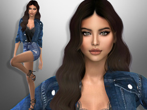 Sims 4 — Roberta Crump by divaka45 — Look at the creator`s notes for the custom content which I have used. DOWNLOAD