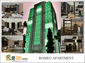 Sims 3 — Romeo's Apartment by Ray_Sims — For some reason single male Sims seem especially attracted to this building.