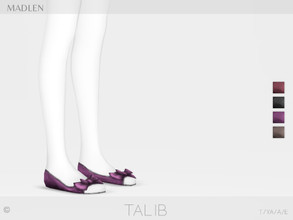 Sims 4 — Madlen Talib Shoes by MJ95 — Mesh modifying: Not allowed. Recolouring: Allowed (Please add original link in the