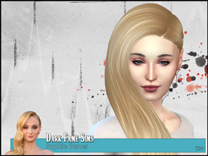 Sims 4 — Sophie Turner by Dark-Fame-Sims — This time I have a female Sim for you. Here is a Sim of Sophie Turner, a great