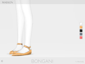 Sims 4 — Madlen Bongani Shoes by MJ95 — Mesh modifying: Not allowed. Recolouring: Allowed (Please add original link in