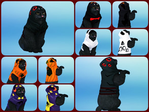 Sims 4 — cat costume  by minesims93 — cat costume / halloween 5 swatches Custom thumbnail i used game mesh
