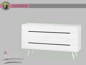 Sims 3 — Allie Bedroom - Dresser by NynaeveDesign — Allie Bedroom - Dresser Located in: Storage - Dresser Price: 257