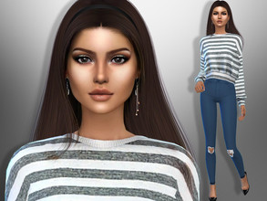 Sims 4 — Beverly Hatcher by divaka45 — Look at the creator`s notes for the custom content which I have used. DOWNLOAD