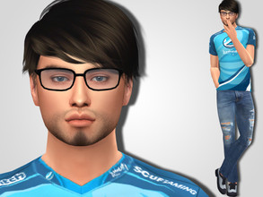 Sims 4 — John Payne by MSQSIMS — Welcome to Luminosity Gaming House! John (Kiwiz) Payne grew his subscriber base over to