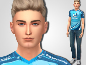 Sims 4 — Jordan Schneider by MSQSIMS — Welcome to Luminosity Gaming House! Jordan (Randumb) Schneider's career started in