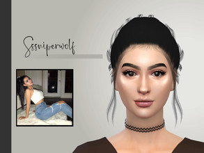 Sims 4 — SSSniperwolf by Daisy_Villaruel — Hi everyone! this is my version of SSSniperwolf a.k.a. Alia Shelesh. Hope you