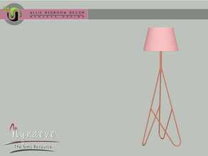 Sims 3 — Allie Bedroom - Floor Lamp by NynaeveDesign — Allie Bedroom - Floor Lamp Located in: Lighting - Floor Lamps
