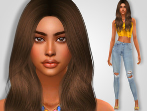 Sims 4 — Madelynn Gregory by MSQSIMS — * Download all CC's listed below to have the sim like in the pictures. * Don't