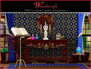 Sims 3 — Witchcraft Part II by Cashcraft — Witchcraft Part II features 8 new objects for your magically inclined Sims. As