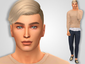 Sims 4 — Evan Reece by MSQSIMS — * Download all CC's listed below to have the sim like in the pictures. * Don't claim as