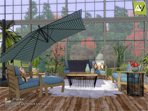 Sims 3 — Dogwood Outdoor Living by ArtVitalex — - Dogwood Outdoor Living - ArtVitalex@TSR, Dec 2019 - All objects are