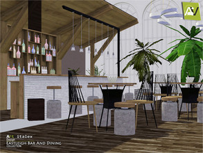 Sims 3 — Eastleigh Bar And Dining by ArtVitalex — - Eastleigh Bar And Dining - ArtVitalex@TSR, Dec 2019 - All objects are