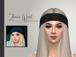 Sims 4 — Zhavia Ward by Daisy_Villaruel — Hi everyone! this is my version of Zhavia Ward. Hope you like her! Enjoy! This