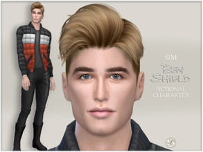 Sims 4 — Ben Shield by BAkalia — :) Fictional character - this is my model, I make him available on request. If you want