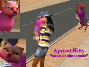 Sims 2 — Apricot Kitty by Small Town Sim — Sweet, fresh, sunshine and fruit. This little kitty will bring nothing but