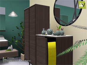 Sims 3 — Xanthe Bathroom Accessories by ArtVitalex — - Xanthe Bathroom Accessories - ArtVitalex@TSR, Dec 2019 - All