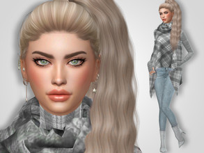 Sims 4 — Karla Weaver by MSQSIMS — * Download all CC's listed below to have the sim like in the pictures. * Don't claim