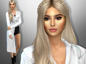 Sims 4 — Reyna Porter by divaka45 — Look at the creator`s notes for the custom content which I have used. DOWNLOAD