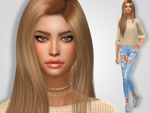 Sims 4 — Allyson Dorsey by MSQSIMS — * Download all CC's listed below to have the sim like in the pictures. * Don't claim