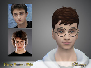 Sims 4 — Harry Potter skin by chiringo-chan — Because I have made Hermione from Harry Potter now it is time to build the