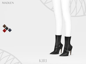 Sims 4 — Madlen Kiri Boots by MJ95 — Mesh modifying: Not allowed. Recolouring: Allowed (Please add original link in the