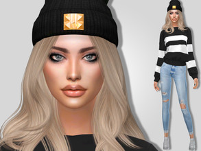 Sims 4 — Celia Flood by MSQSIMS — Name : Celia Flood Age : Young Adult Aspiration: Academic Traits: