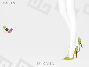 Sims 4 — Madlen Furaha Shoes by MJ95 — Mesh modifying: Not allowed. Recolouring: Allowed (Please add original link in the