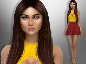 Sims 4 — Hillary Lind by divaka45 — Look at the creator`s notes for the custom content which I have used. DOWNLOAD