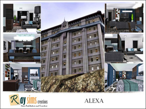 Sims 3 — Alexa by Ray_Sims — This apartment has 2 bedroom and 2 bathroom. Hope you enjoy it :)