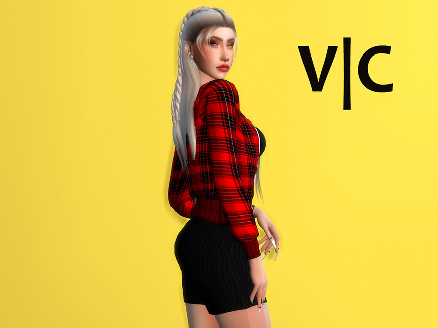 Dress III Autumn VI by Viy Sims at TSR » Sims 4 Updates