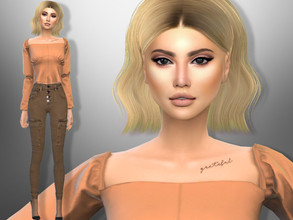 Sims 4 — Melina Aspen by divaka45 — Look at the creator`s notes for the custom content which I have used. DOWNLOAD