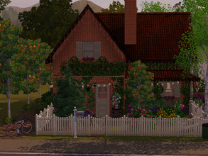 Sims 3 — Agathe's Little Farm by sgK452 — Before long ago this place was a farm, but Agathe turned it into a cozy and