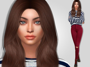 Sims 4 — Kathy Stuckey by MSQSIMS — Name : Kathy Stuckey Age : Young Adult Aspiration: Painter Extraordinaire Traits: