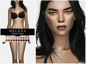 Sims 4 — Helena Female Skin by -Merci- — New realistic and detalied skin for Sims4! -Helena Skin is for female sims and
