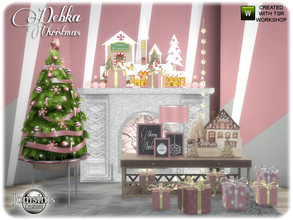 Sims 4 — Debka christmas living part 2 by jomsims — Debka christmas living part 2 This is part 2 of the living room,