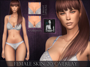 Sims 4 — Female Skin 20 - Overlay by RemusSirion — A new overlay skin for female sims! R skin 20 This is an overlay
