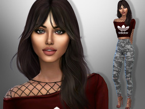 Sims 4 — Graciela Favela by divaka45 — Look at the creator`s notes for the custom content which I have used. DOWNLOAD
