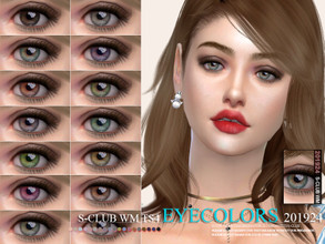 Sims 4 — S-Club WM ts4 Eyecolors 201924 by S-Club — Eyecolors, 17 swatches, hope you like, thank you.