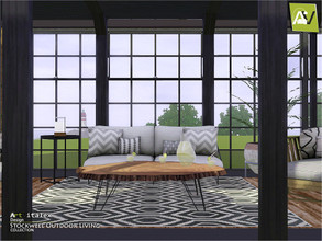 Sims 3 — Stockwell Outdoor Living by ArtVitalex — - Stockwell Outdoor Living - ArtVitalex@TSR, Dec 2019 - All objects are