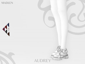 Sims 4 — Madlen Audrey Shoes by MJ95 — Mesh modifying: Not allowed. Recolouring: Allowed (Please add original link in the