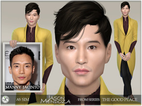 Sims 4 — The Good Place - Jason Mendoza by BAkalia — Hello :) The second character from the series The Good Place is